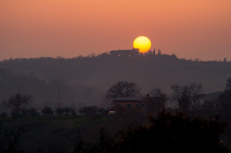 tramonto la belle evoque